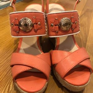 Tommy Hilfiger wedges size 6